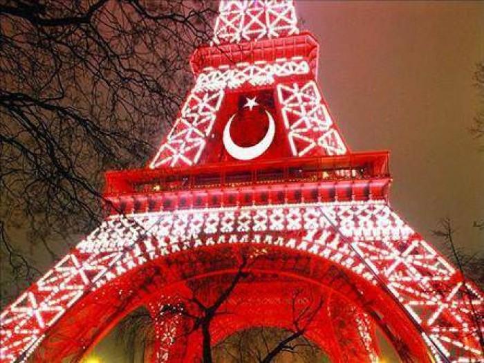 Avrupa futbol şampiyonası 2016 France Fransa Eiffel Tower Eyfel Kulesi Türk Bayrağı Turkish  5.jpeg
