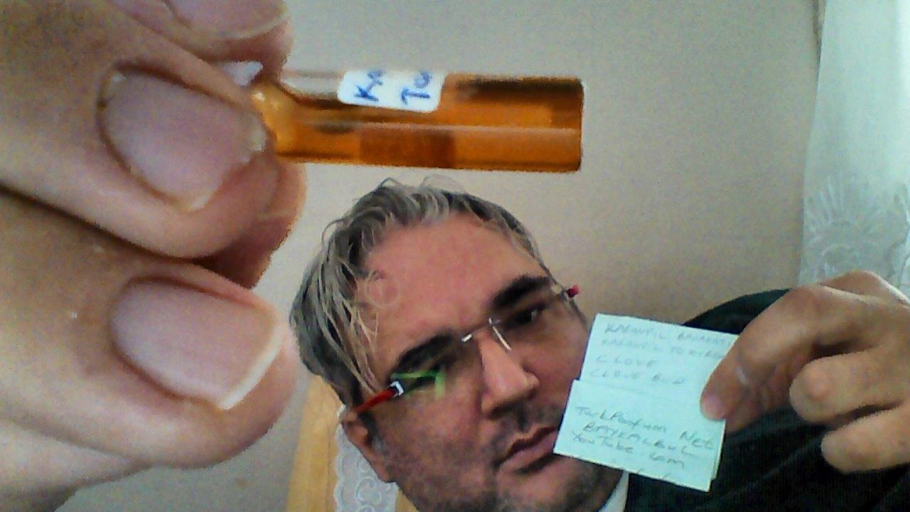 Clove oil Clove bud oil picture Karanfil baharatı yağı resimi açık  kahverengi baykalbul ...JPG