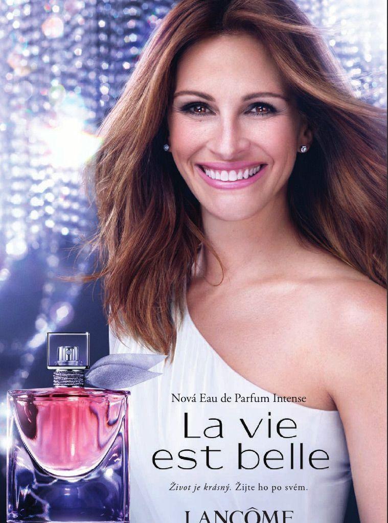 La Vie Est Belle L'Eau de Parfum Intense Lancome for women Afiş Julia Roberts.jpg