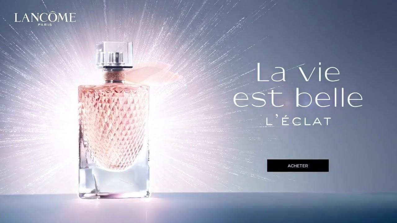 La Vie est Belle L'Éclat Lancome for women afiş.jpg