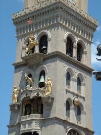Messina, Duomo'nun çan kulesinin detayı Campanile.JPG