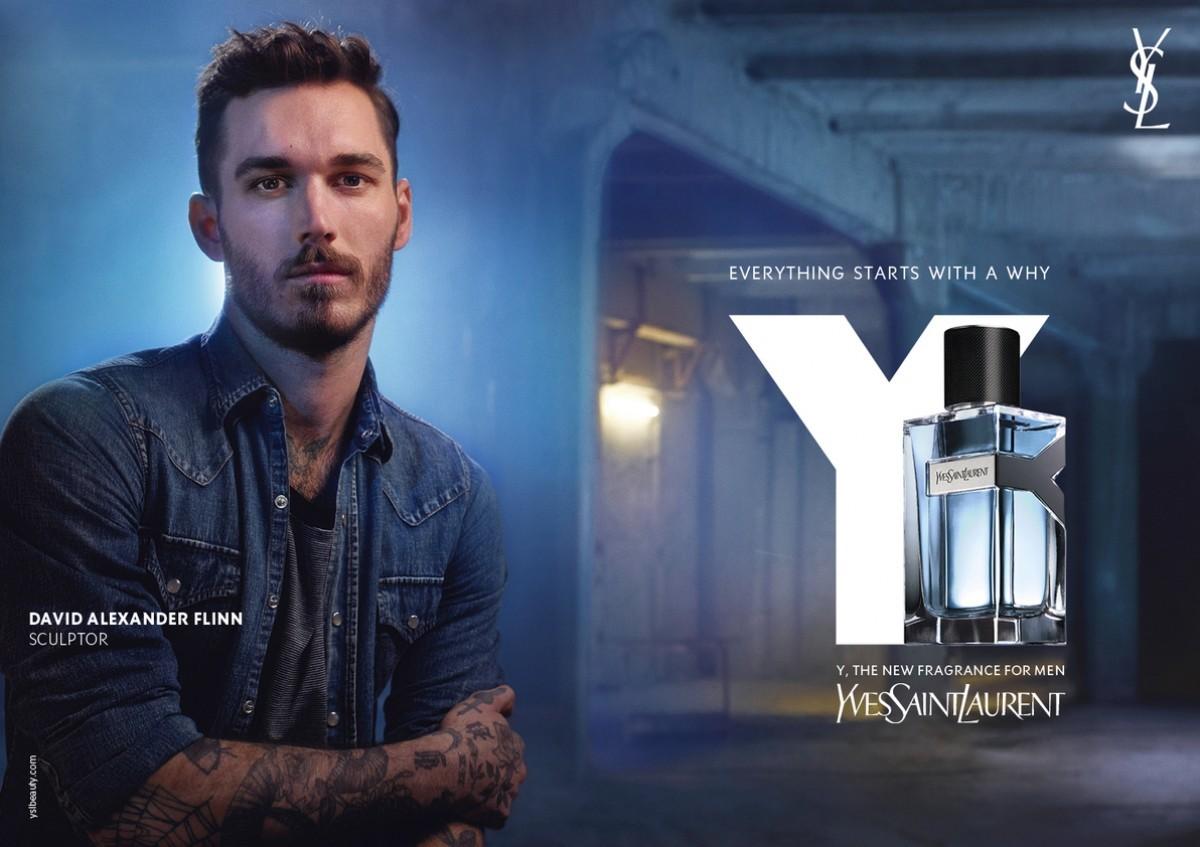 Yves Saint Laurent Y Yves Saint Laurent for men commercial resmi afiş poster.jpg
